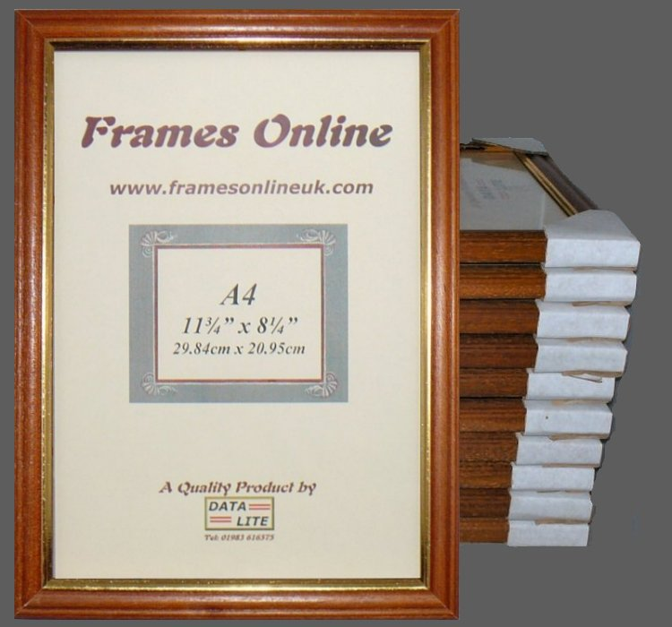 a4 teak photo picture frames wholesale trade