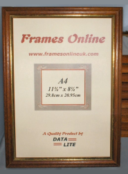 A4 Teak Photo Picture Frames - Wholesale Trade